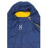 Haglöfs Tarius +6 Sleeping Bag 190cm hurricane blue